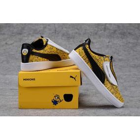 Tenis Puma Minions Kids Criança Shoes Vários Modelos