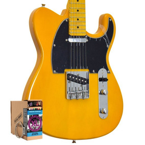 Guitarra Tagima Telecaster Woodstock Bs Tw 55 Regulada!