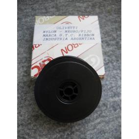 Cinta P/ Máquina De Escribir Olivetti G T C Nylon Negro/fijo