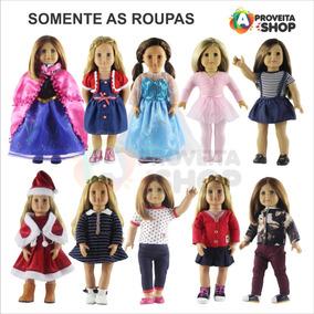 5 Roupas Boneca American Girl Reborn 45 Cm