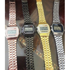 Reloj Retro Metalico Unisex Vintage Mayoreo Provedor