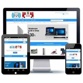 Loja Virtual App 5 Temas Responsivo Hospedagem Grátis