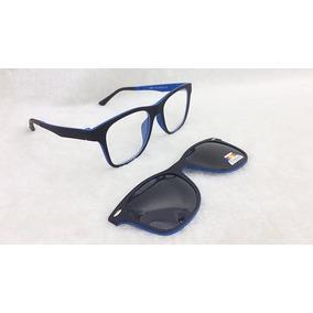 Armação Para Óculos De Grau Com Clip On São 4 Modelos - Óculos no ... a38b323712