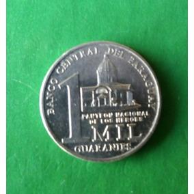 Moeda 1 Mil Guaranies - Paraguai - 2008
