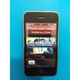 iPhone 3g Bloqueado Original Para Retirada De Peças