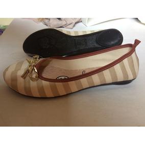 16e7607e2f Sapatilha Moleca Creme Vintage Onça Colorida - Sapatos no Mercado ...