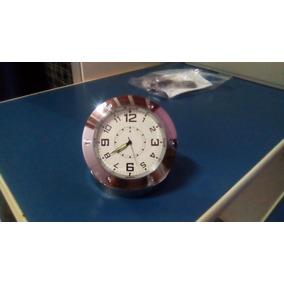 Relógio Mesa Espião Camera Espiã Com Sensor Sonoro