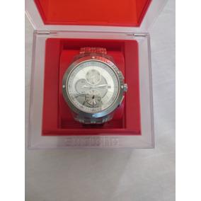 Relógio Swatch Chrono Automático Svgk403 - Suiço - Usado