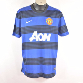 NikePlayera Manchester Azul Xl Msrp $1100
