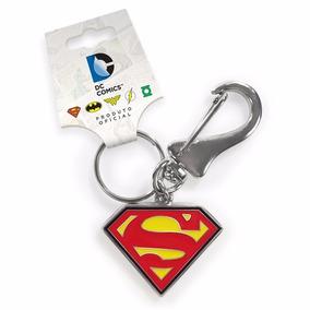 Chaveiro De Metal - Superman Logo - Oficial Dc Comics