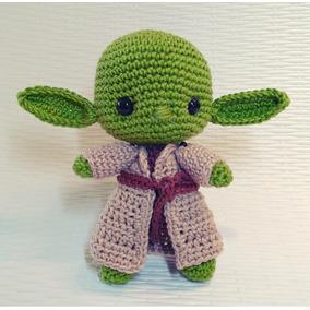 Mestre Yoda Em Amigurumi