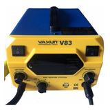 Estação De Solda Retrabalho 2 In 1 Yaxun V83 220v Com Usb