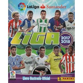 Lote 10 Figurinhas Liga Espanhola 2017/2018