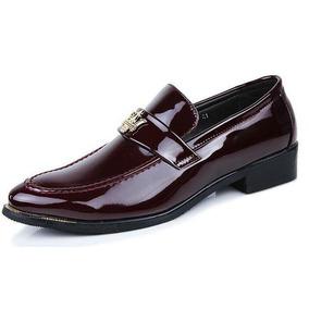 Zapatos Para De Elegantes Tipo Hombre Charol Mocasín RxqfprRWXw