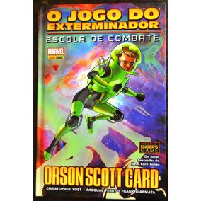 Jogo Do Exterminador Escola De Combate Enders Game Capa Dura