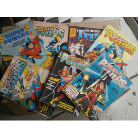 Super Powers - Formatinhos 7 Gibis R$ 35,00