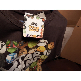 Playera Star Wars Disney Niño Marca Tsum Tsum Gris