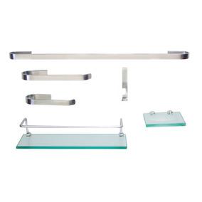 Kit Para Banheiro Onix 2 (6 Peças)