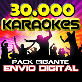 Karaoke 2018 +30000 Pistas Smart Tv Pc Envio X Descarga