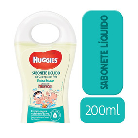 Sabonete Líquido Huggies Extra Suave - 200ml - Toiletries