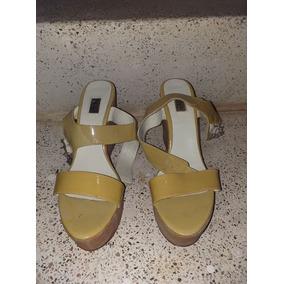 Zapatos Plataforma Cloe Oe 5.5 Mex Practicamente Nuevos