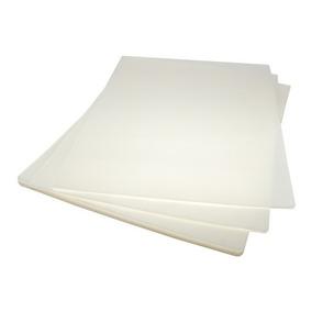 Laminas Para Plastificar Tamaño Carta 125 Micrones 230x300mm