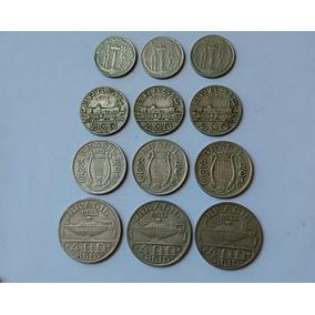 Lote Moeda 100, 200,300, 400 Réis 1936 A 1938 Com Frete