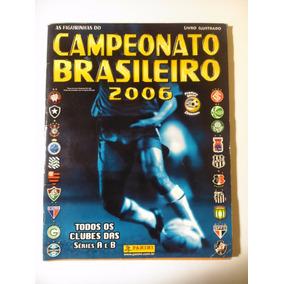 Album Figurinhas Campeonato Brasileiro 2006 Completo Colado