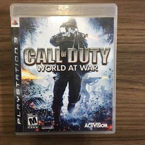 Jogo Call Of Duty World At War Ps3 M. Fís Seminovo
