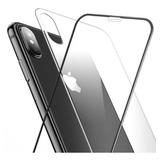 Pelicula Vidro 5d + Traseria Vidro iPhone X 6 7 8 Xs Max Xr