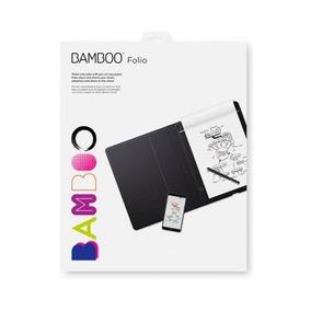 Bloco De Notas Digital Wacom Bamboo Folio Pequeno 140x216mm