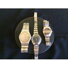 Lote De 3 Relógios De Pulso Marca Seiko-orient