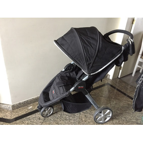 Carrinho Britax Preto+bebê Conforto B-safe