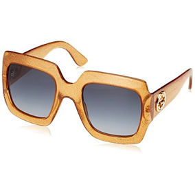 Gucci Gg0053s Oversize Square Sunglasses 54 Mm