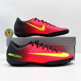 Chuteira Society Nike Mercurial   Cor Cereja   Tamanho 43 ... 6766e2c569db9