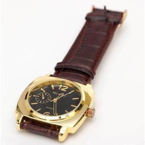 Reloj De Piel Analógico Cuarzo Vintage Milagro Pulsera