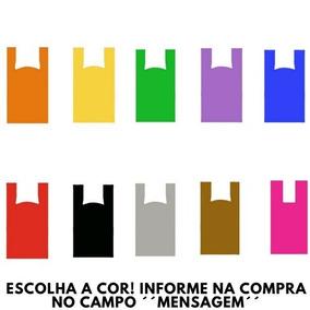Sacolas Plasticas 30x40 C/500 Unidades Qualquer Cor