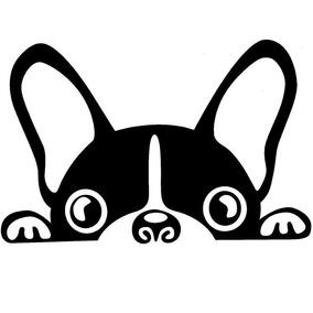 Adesivo Bulldog Cachorro Dog Pet Carro, Moto