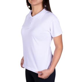 Camiseta Gola Polo Feminina Uniforme Liso Promoção Cores
