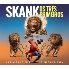 Cd Skank - Os Três Primeiros - Cd Duplo Em Digipack (2018)
