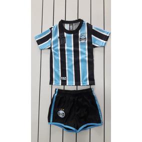 aad60f9f46 Kit Gremio Infantil Placar Gr20pk - G - Azul preto