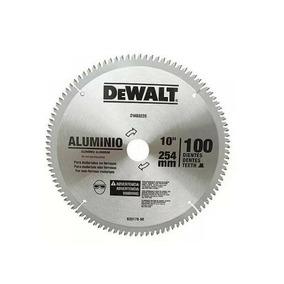 Disco De Serra Para Alumínio 10 100 Dentes Dwa03220 Dewalt