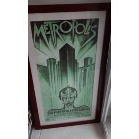 Cartaz Original Do Filme Metropolis De 1927