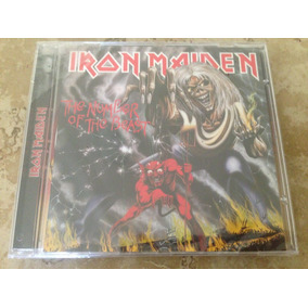 Iron Maiden Cd The Number Of The Beast Lacrado