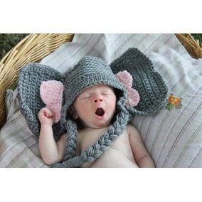 Gorro Elefante Tejido Crochet