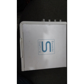 Placa De Audio Focusrite Saffire