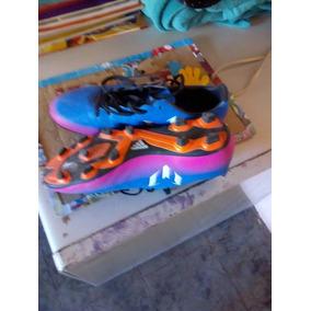 5433cd82cf277 Taquetes Adidas Azules Usado en Mercado Libre México