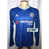 Camisa Manga Longa Chelsea - Camisas de Times de Futebol no Mercado ... 9e5099204102c