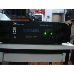 1 Potência Machine Mod.sbx 8.0 5700 Em 2 Ohms Line Ab Class