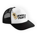 Gorra Knife Party Trucker - Mapuer Remeras Buzos 60a0610518c